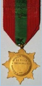 medaille famille française face