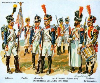 infanterie-de-ligne-1807-1812